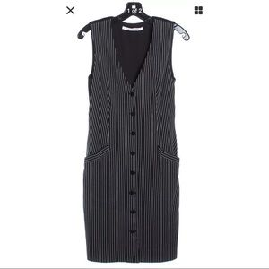 Diane Von Furstenberg striped sheath dress